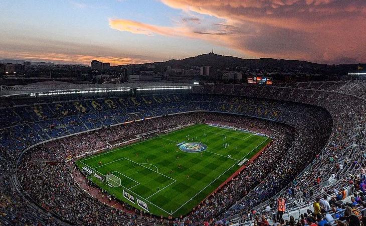 Europas größten Fußballarenen