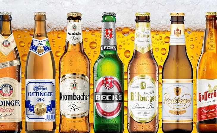 Deutschlands 10 größten Biermarken