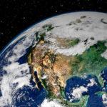 Die Oberfläche der Welt 10 größte Länder