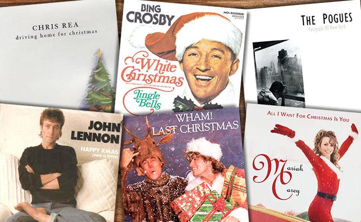 Meistgespielten Weihnachtslieder